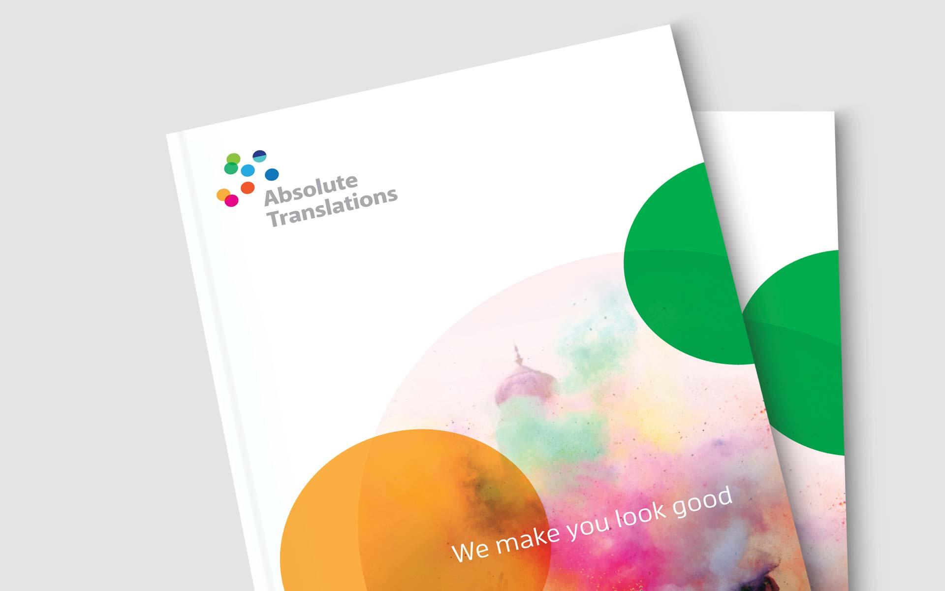 Absolute Tranlsations Logo Design Booklet