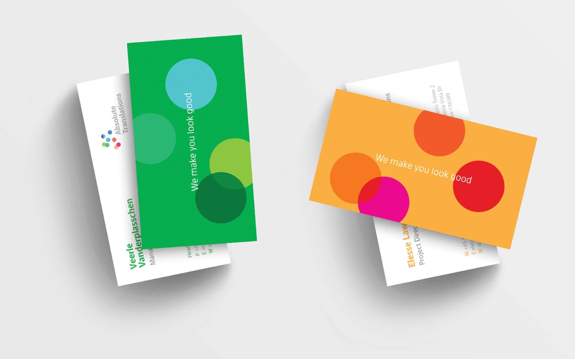 Absolute Tranlsations Logo Design Business Design