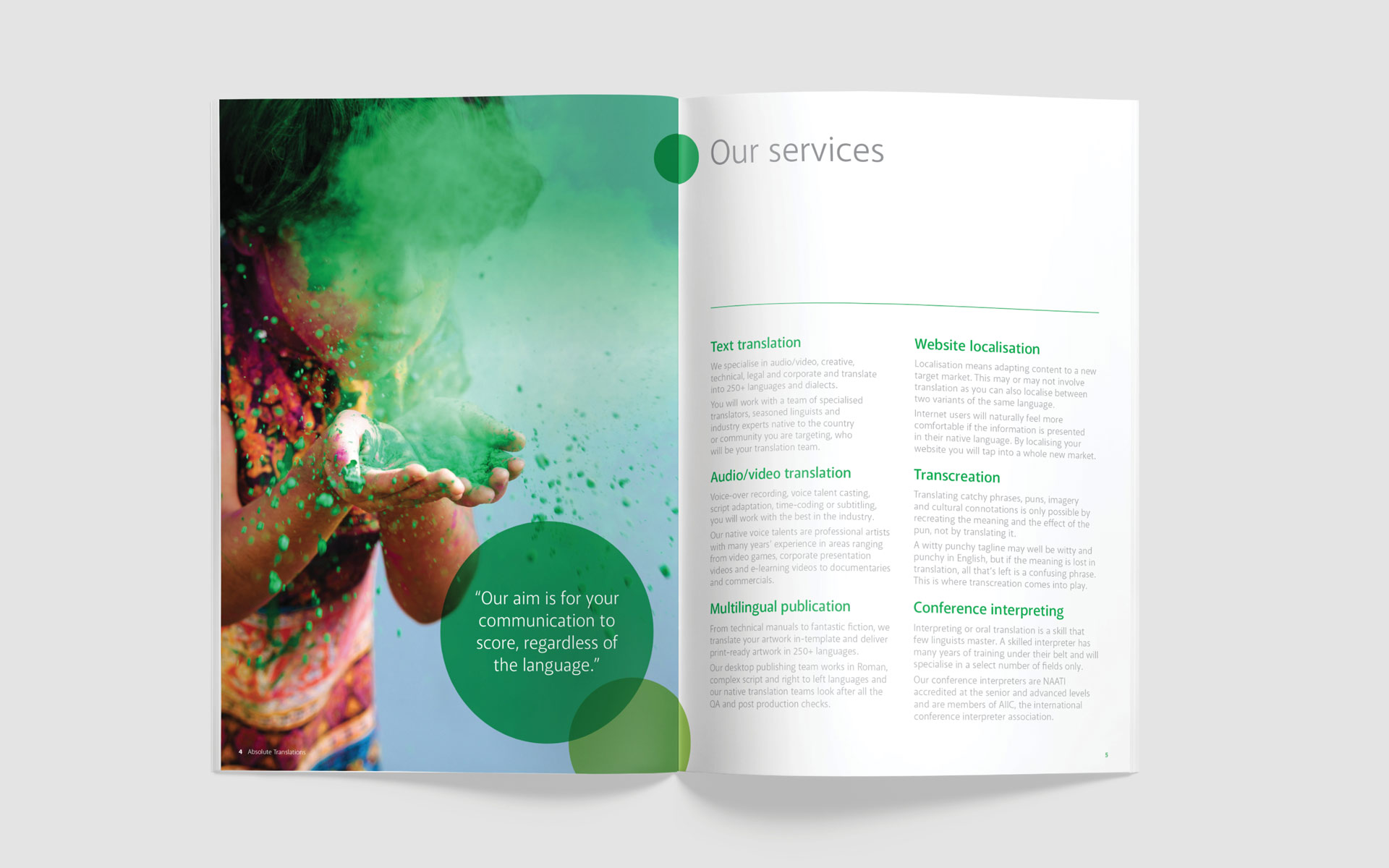 Absolute Translations Corporate Brochure