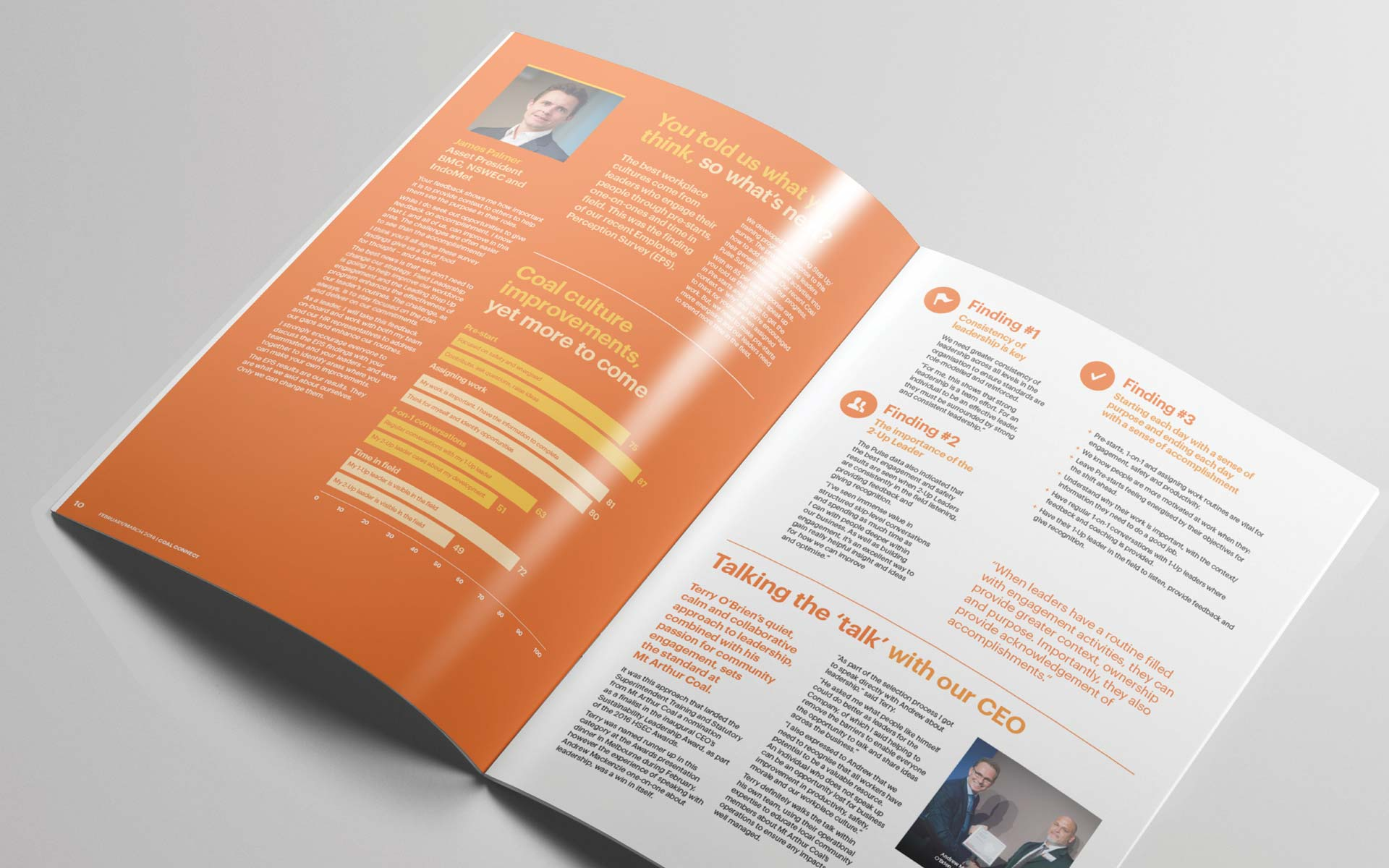 BHP brochure design Publication Design