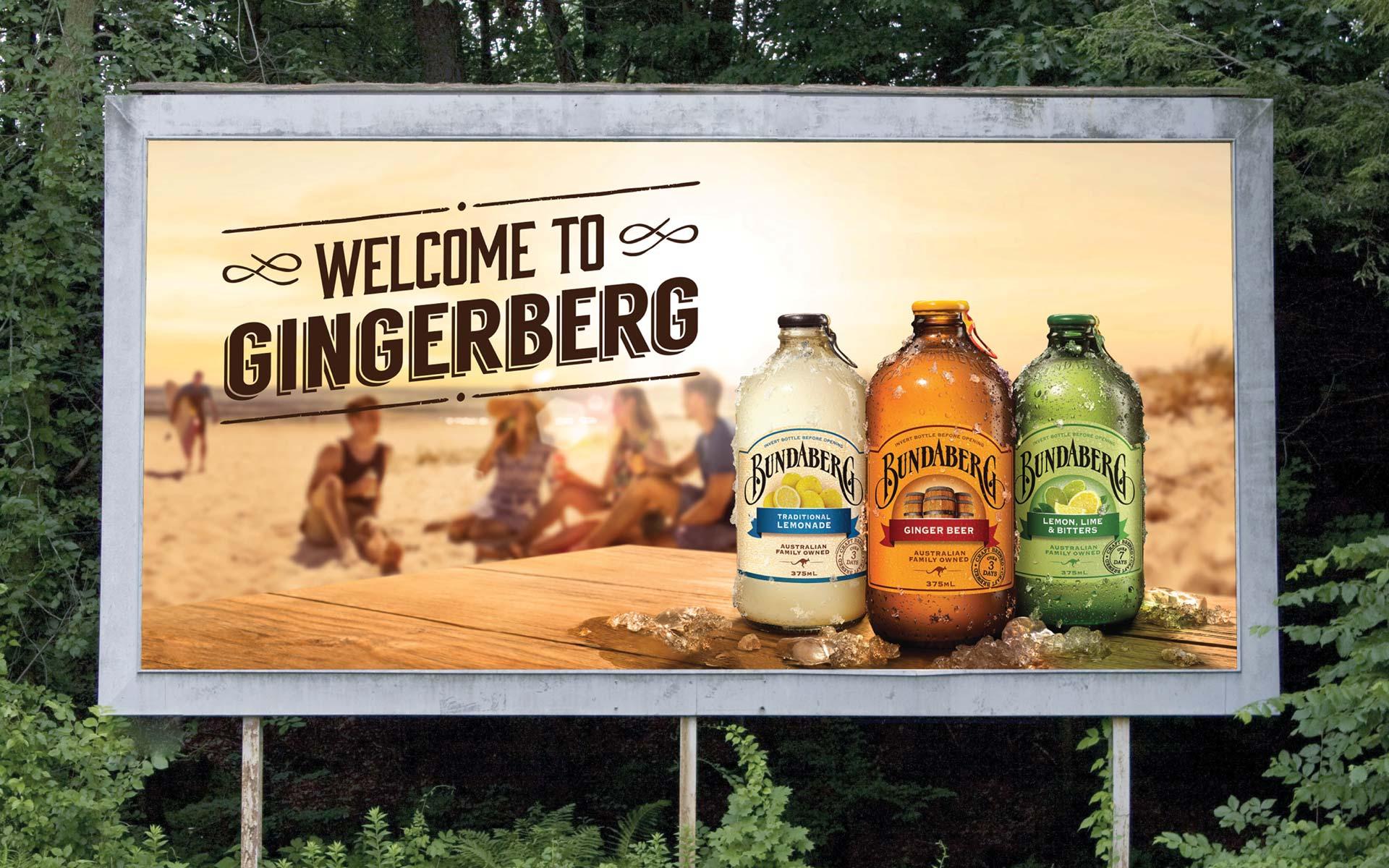 Bundaberg Brewed Drinks Digital Design Billboard