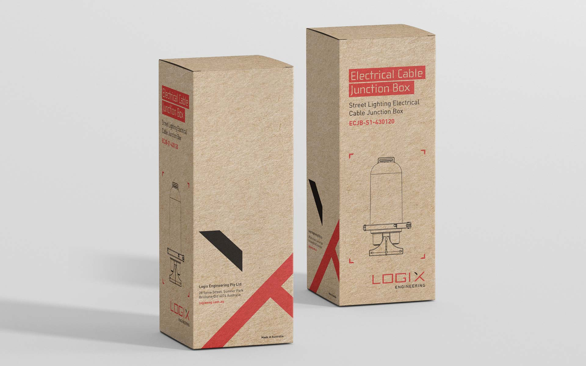 Logix Engineering Flyer Design Packaging