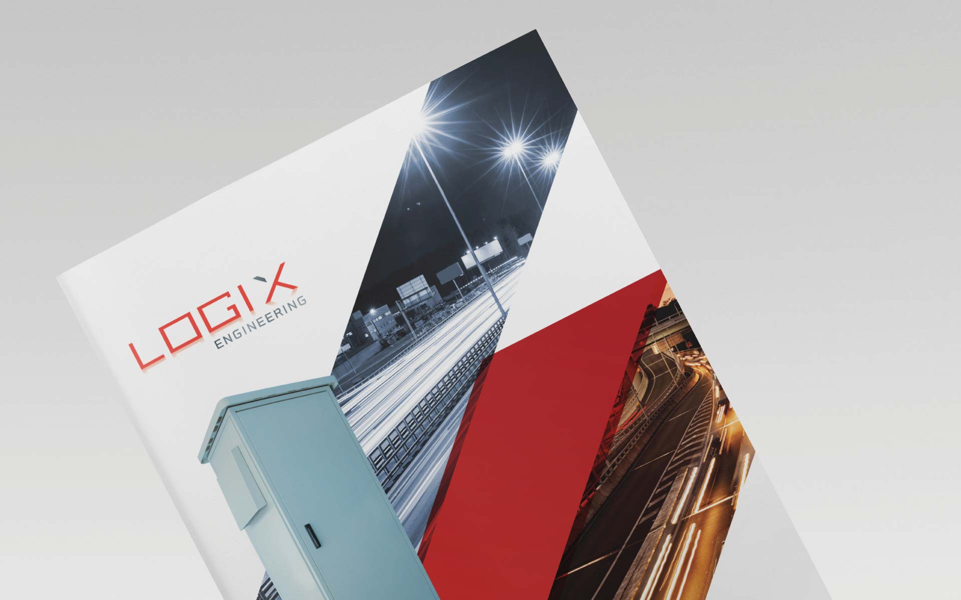 Logix Engineering Flyer Design Product Catalogue