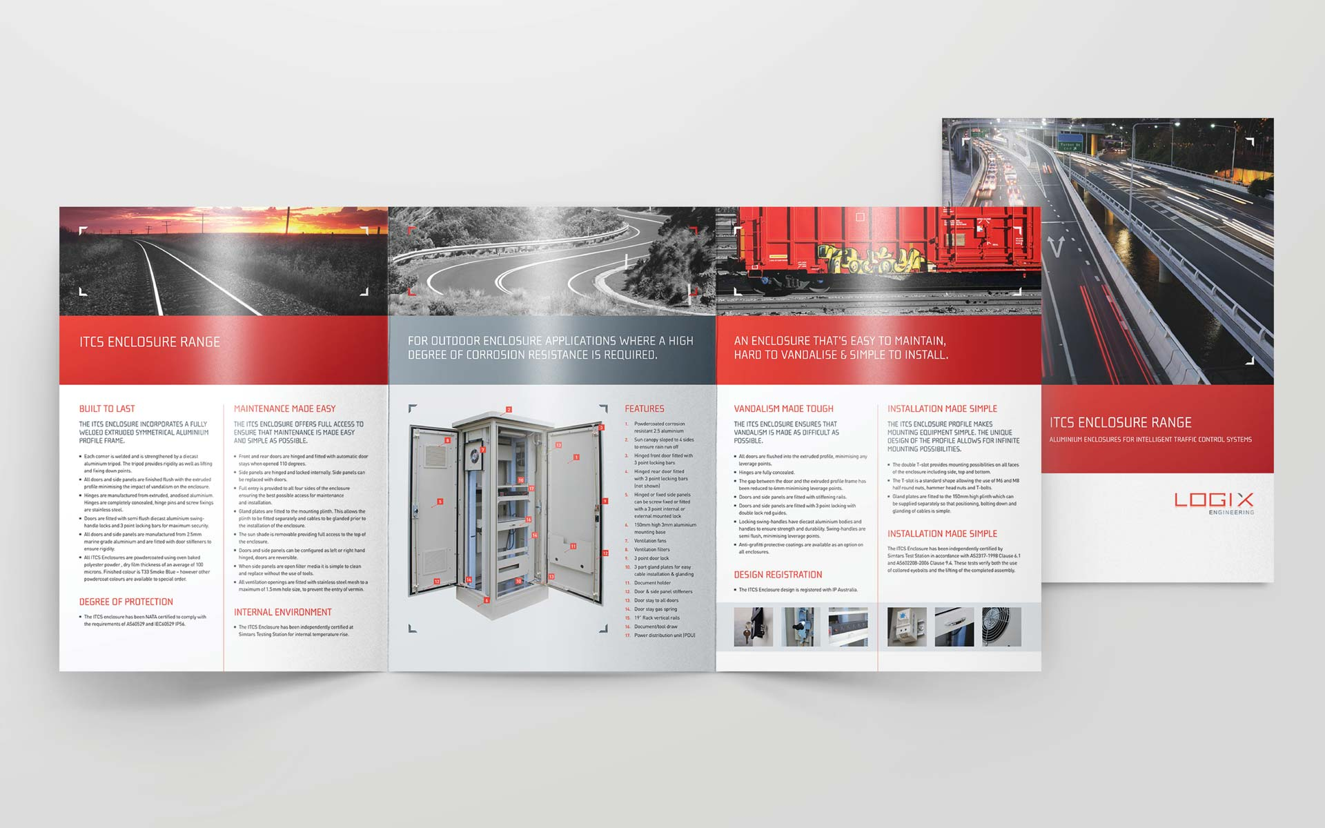 Logix Engineering Flyer Design Product Brochure
