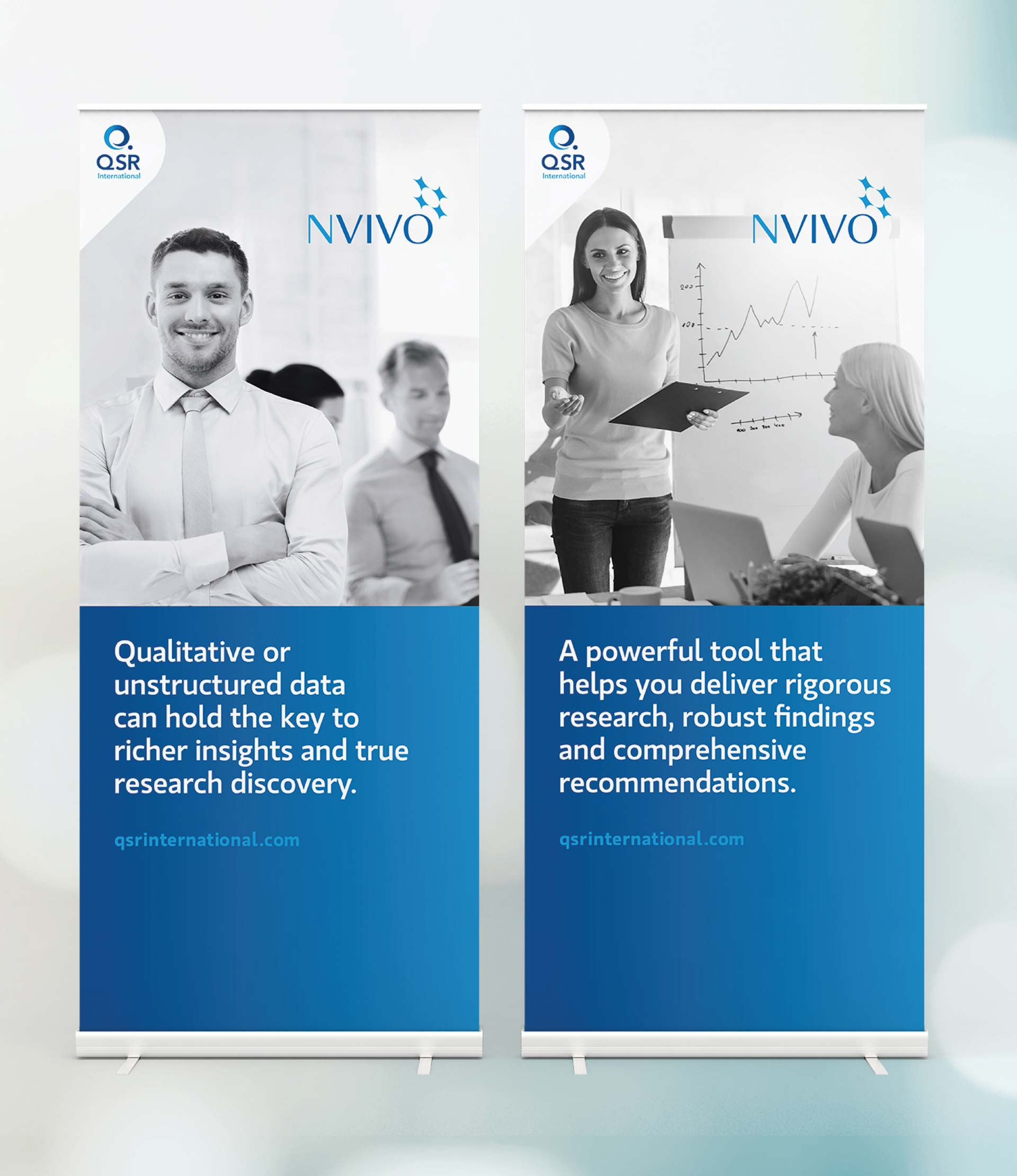 QSR International Brand Guidelines Design Pull-up Banners