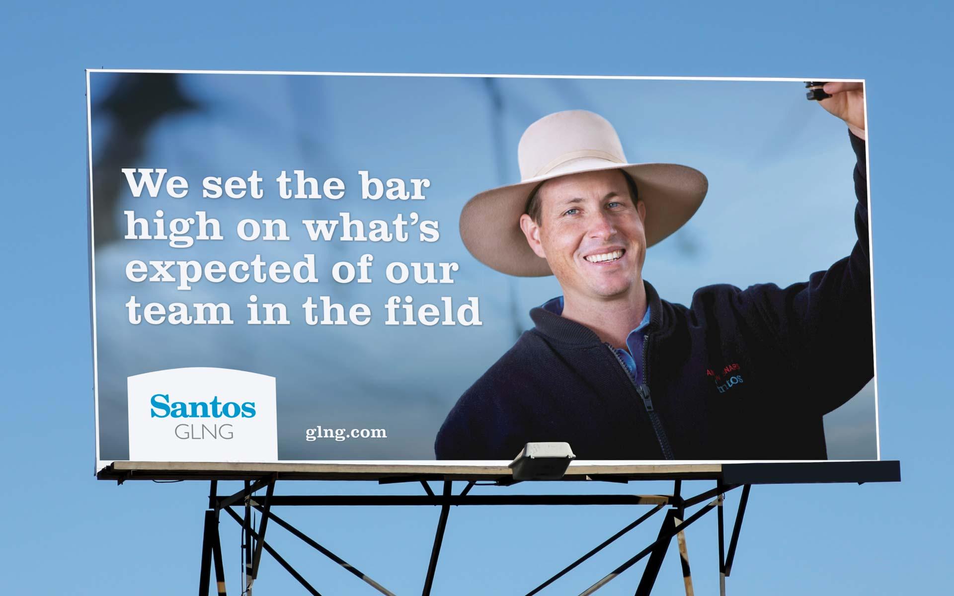 Santos Billboard