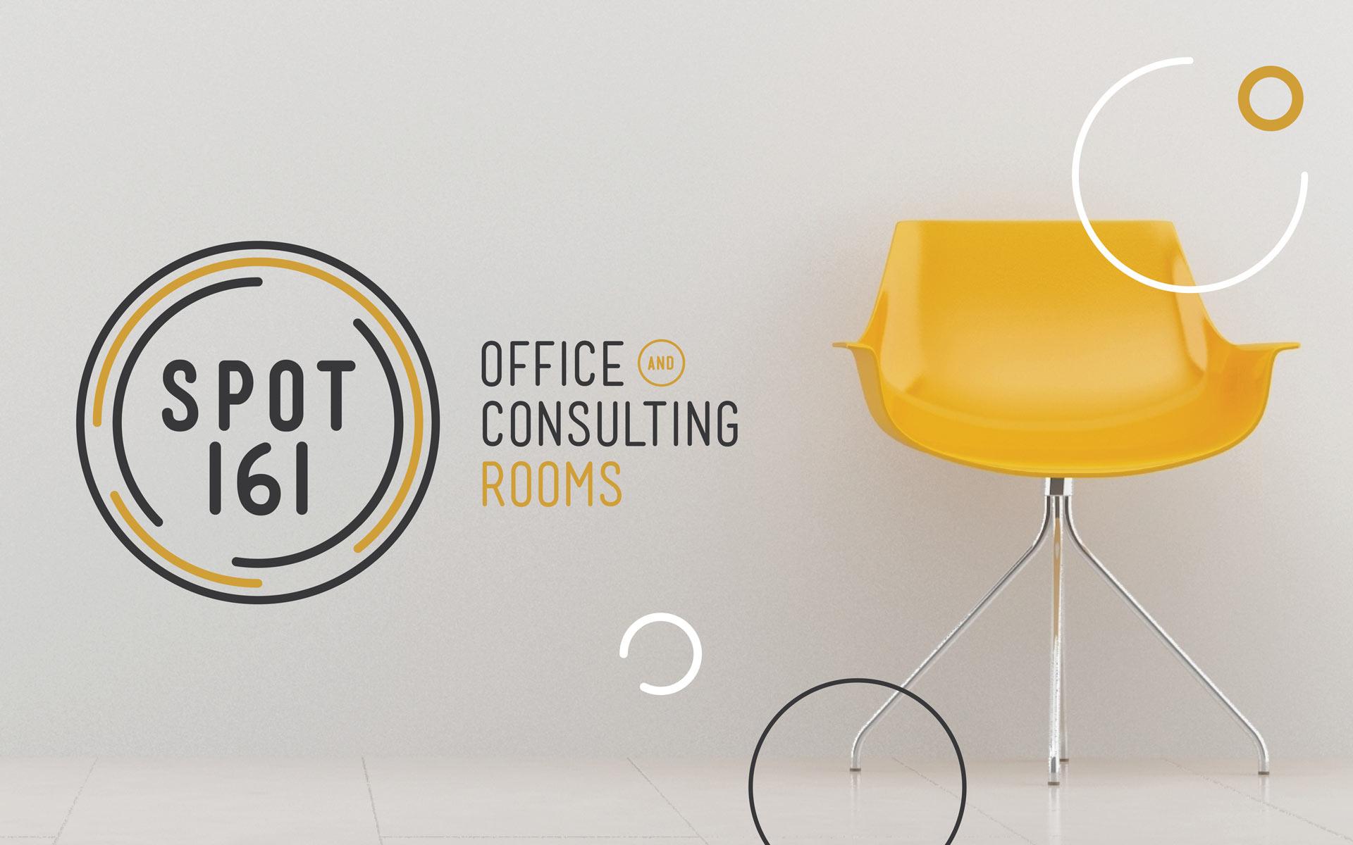 Spot 161 Logo Design