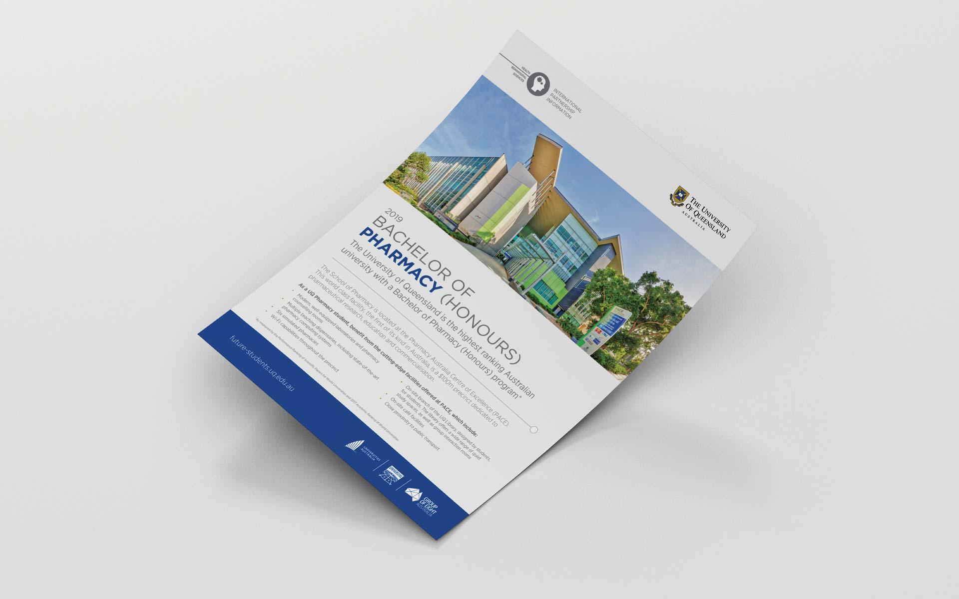 UQ Infographic Design Fact Sheet Design